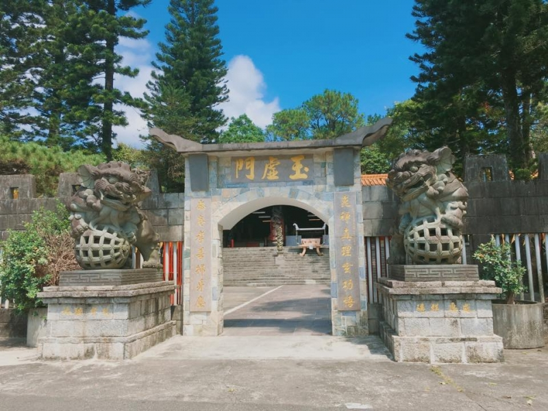 崑崙仙山太極殿